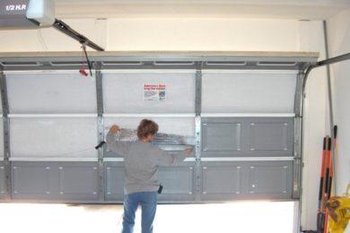 Replacing Overhead Door panels
