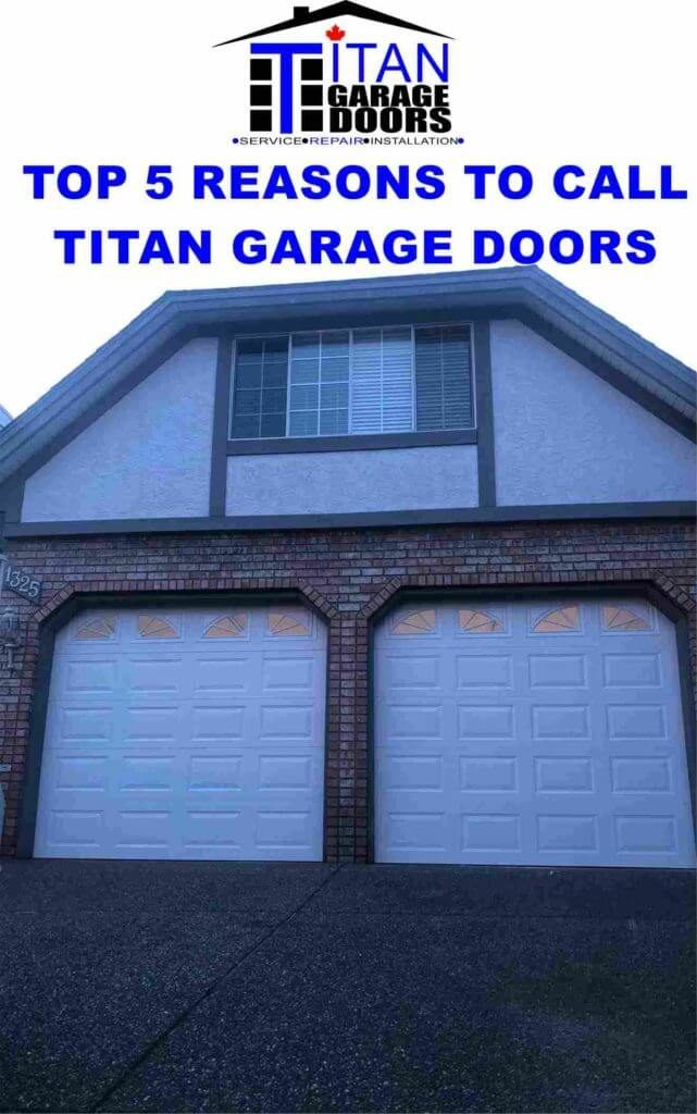 a 2 garage door replacement