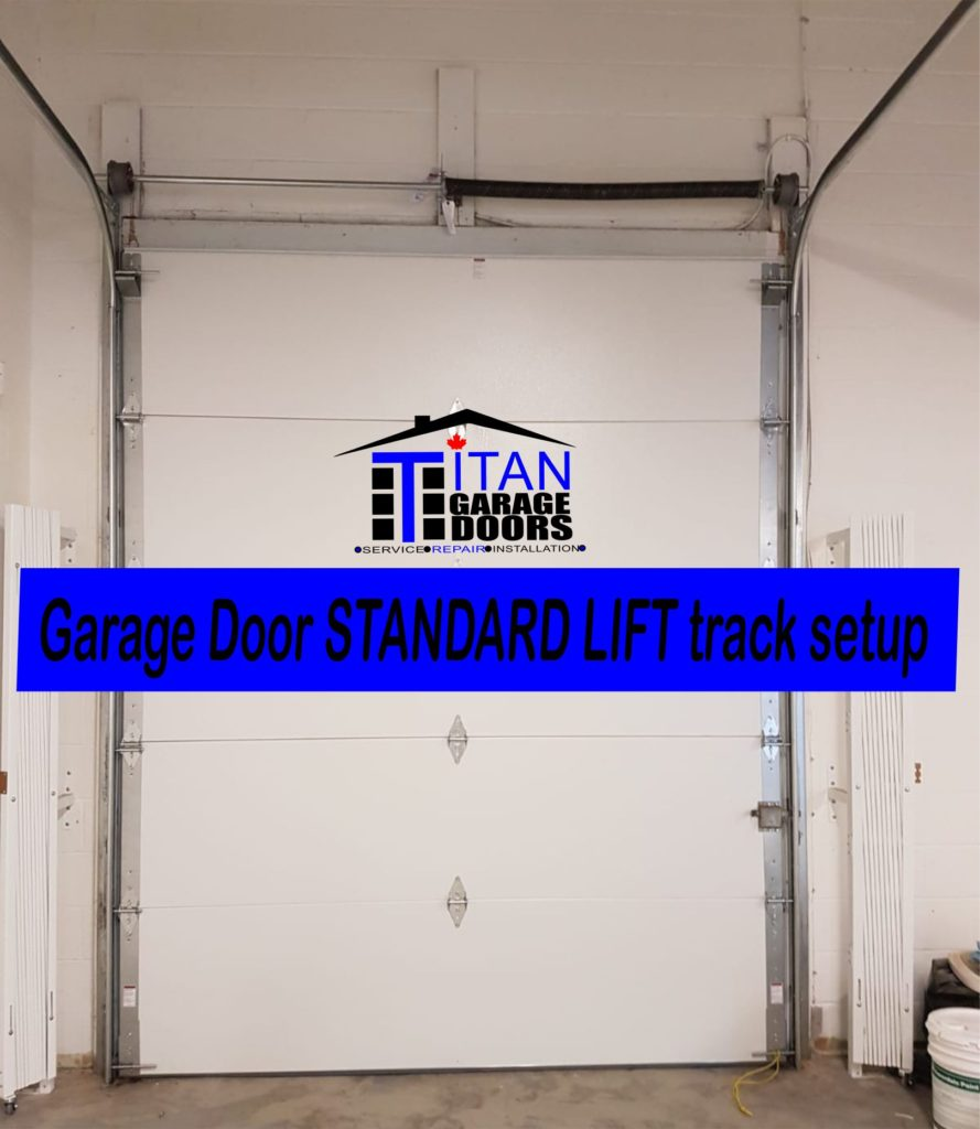 standard lift garage door