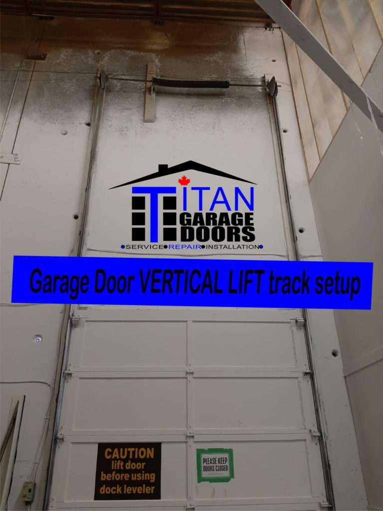GARAGE DOOR VERTICAL LIFT