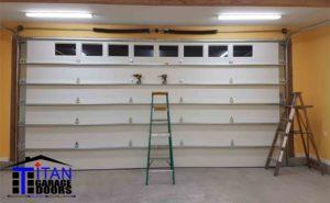 over size garage door