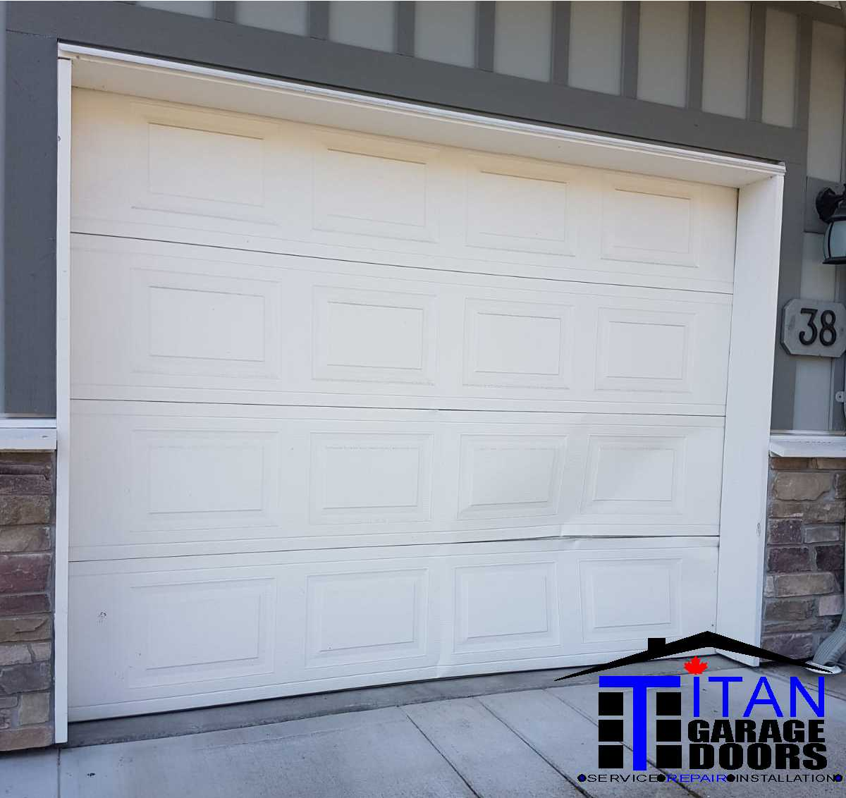 Titan Garage Doors Garage Door Repair And Service 24 7 Same Day Local Family Owned