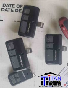garage door remotes clickers transmitters